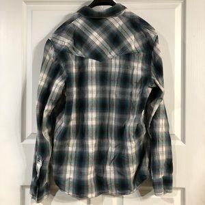 Vans Shirts - Vans Long Sleeve Button Up Men's Size Large